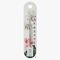 Термометр комнатный с цветами