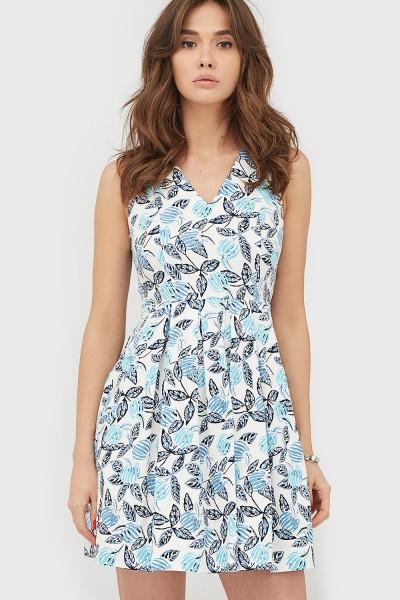 Жіноче голубе плаття-міні Dion