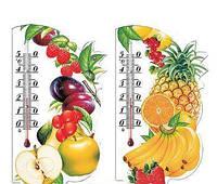 Термометр-сувенир «Фрукты» (не содержит ртути)