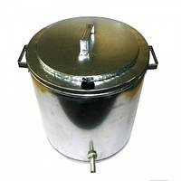 Воскотопка паровая 17 литров. Оцинкованная., фото 1