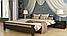 Кровать деревянная Афина двуспальная, фото 4