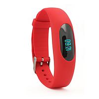 Фитнес-браслет 307 красного цвета