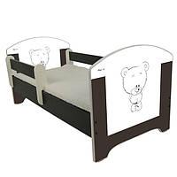 Детская кровать Oskar Venge Мишка 140 х 70 Baby Boo 100150