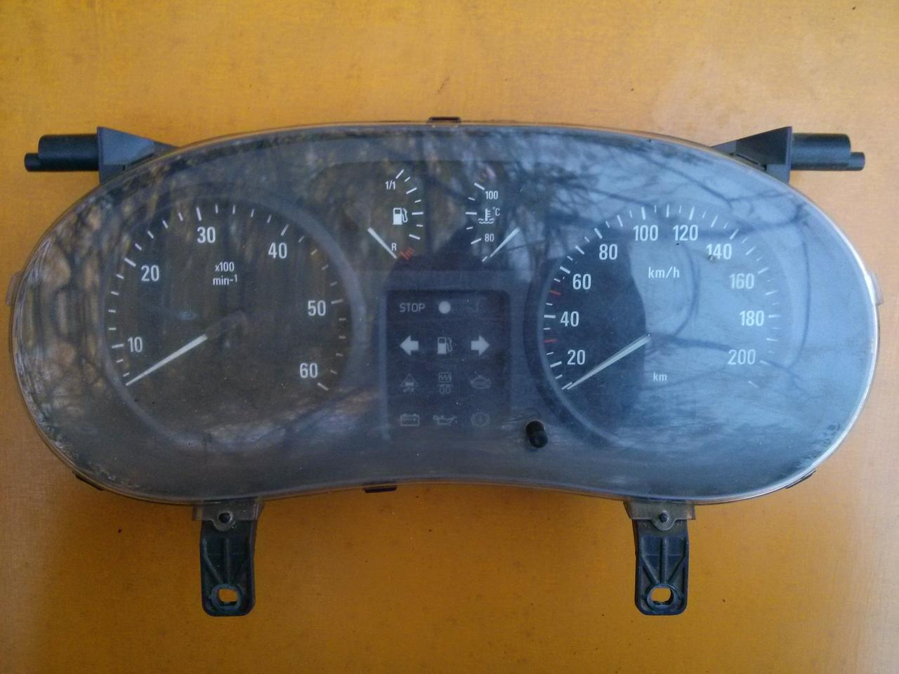 Спідометр механічний Renault Trafic, Opel Vivaro 2001-2006, 8200279068 (Б/У)