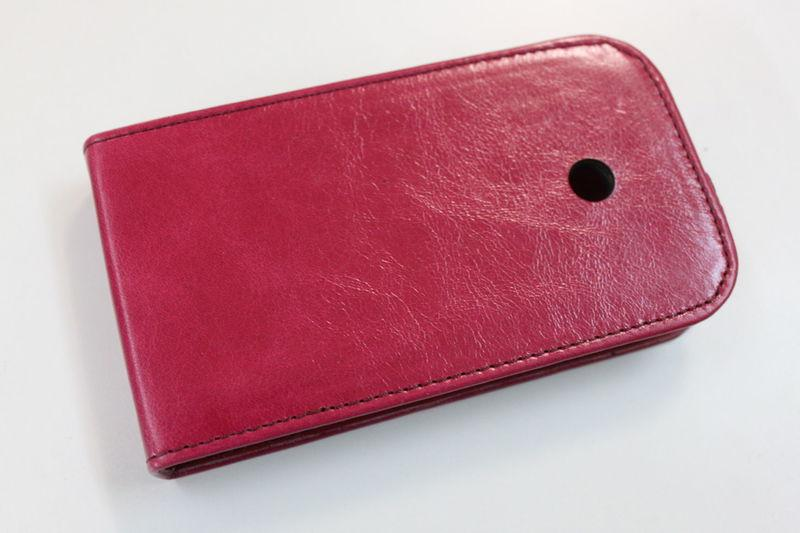 Кожаный чехол для Nokia 510