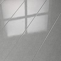Глянцевый ламинат HDM  Металлик серый 32 класс
