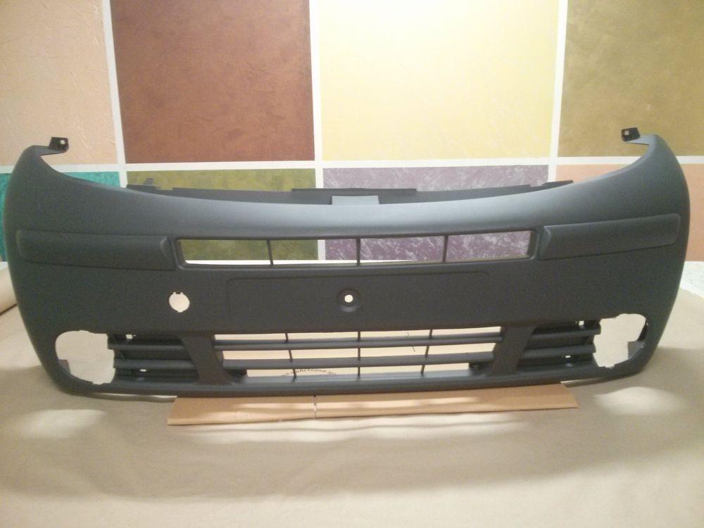 Бампер передній (під ПТФ) Renault Trafic, Nissan Primastar 2001-2006, Blic 5510-00-6062900P