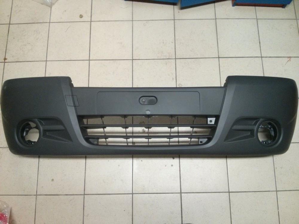 Бампер передній (під галогенки) Opel Vivaro 2006> (новий)