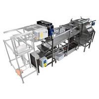 Автоматическая линия для распечатывания и откачки мёда базовая версия. Лысонь Польша