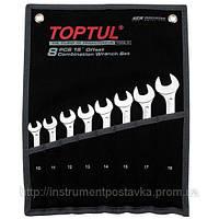 """Набор ключей комбинированных 14 шт. 8-32  """"Hi-Performance""""  TOPTUL GPAX1401"""