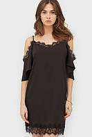 Витончене коктейльне чорне плаття Dark