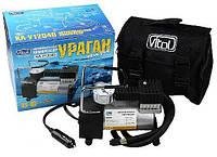 Автокомпрессор Vitol КА-У12040 Ураган прикуриватель + переходник 35л в мин.