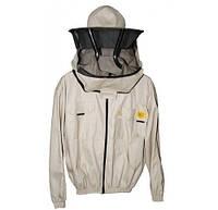 Куртка пчеловода с маской на молнии  Размер S / 48. Рост 164 см. Лысонь Польша