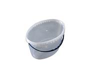 Ведро 11 л. пластиковое для пищевых продуктов код 11000V