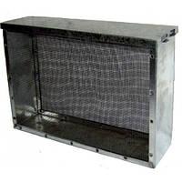 Изолятор сетчатый  стальной окрашенный порошковой краской на улей типа «Рута» на 2 рамки