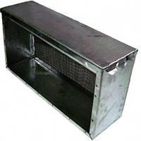 Изолятор сетчатый  стальной окрашенный порошковой краской на улей типа «Рута» на 3 рамки