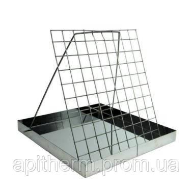 Ванночка для распечатки сот. Нержавеющая сталь