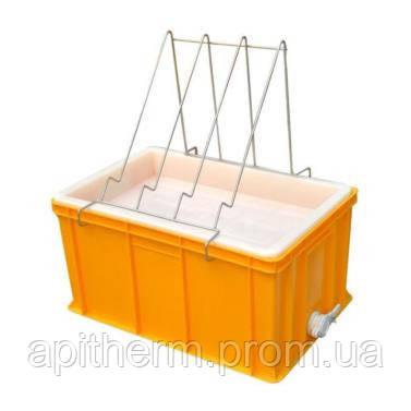 Ванночка пластмассовая для распечатки сот 300 мм. Сито пластмассовое