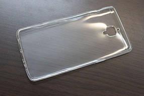 Силиконовый прозрачный чехол для OnePlus 3