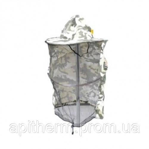 Маска пчеловода камуфляжная (полотно сзади)