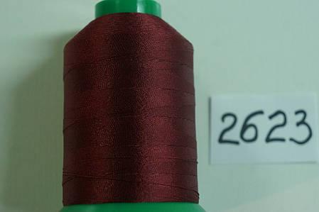 Нить Титан №20 2000 м. Польша цвет (2623) бордовий, фото 2