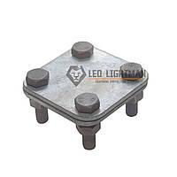 Соединитель крестовой Cross для плоских проводников шириной до 30мм St/tZn