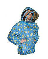 Куртка пчеловода Евро Без замка 100% Хлопок облегчённый. Размер ХХXXL / 58-60