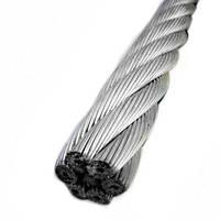 Трос из нержавеющей стали (7*19) 6 мм