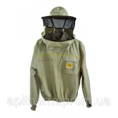 Куртка пчеловода с замком Premium Line. Размер S / 48 рост 164 см