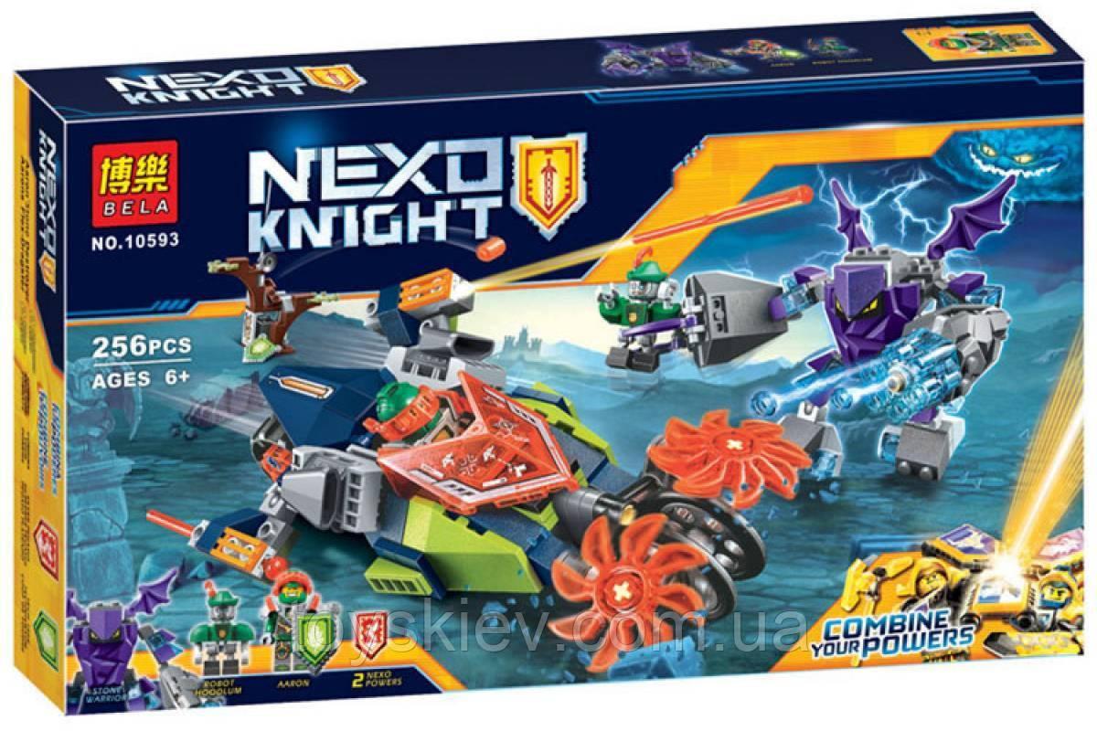 Конструктор BELA Слайсер Аарона 10593 (аналог LEGO Nexo Knights 70358)