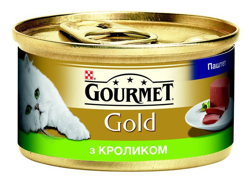 Gourmet Gold 85г*24шт - консерва для котів