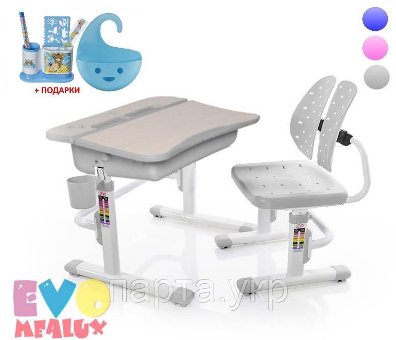 Комплект парта и стульчик Evo-03, Evo-kids, 3 цвета