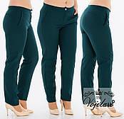 Стильные женские брюки с кокеткой (разные цвета) 48-54  код 209 Б