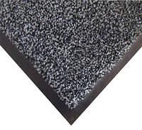 Нейлоновый грязезащитный коврик. 60*90 серый.