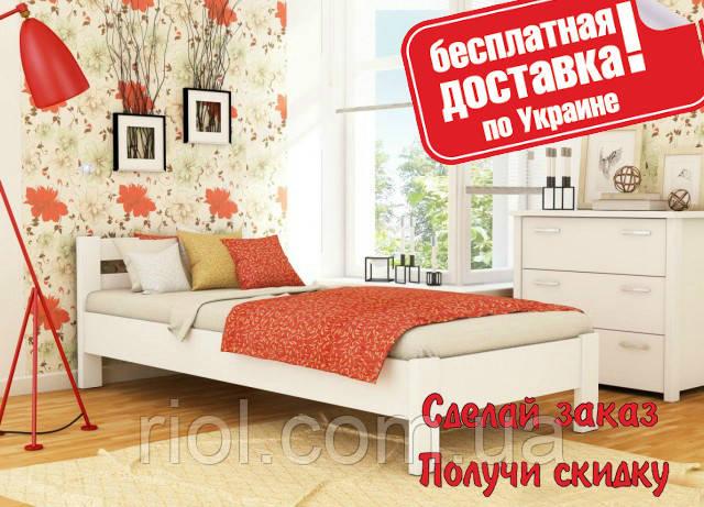 Кровать деревянная Рената односпальная