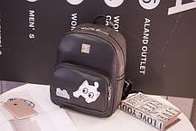 Милий міський рюкзак з котиком і мишкою, фото 2