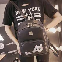 Милый городской рюкзак с котиком и мышкой , фото 3