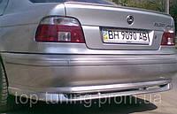 Юбка  заднего бампера BMW 5-я серия
