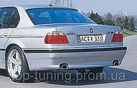 Юбка  заднего бампера BMW 7-я серия