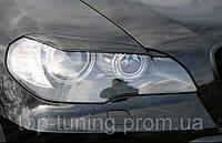 Ресницы передних фар BMW X5