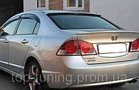 Накладка на заднее стекло Honda Civic