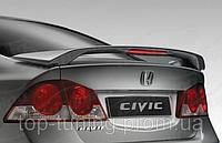 Спойлер на багажник Honda Civic