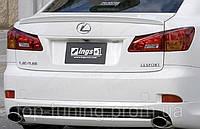 Лип-спойлер на багажник Lexus IS