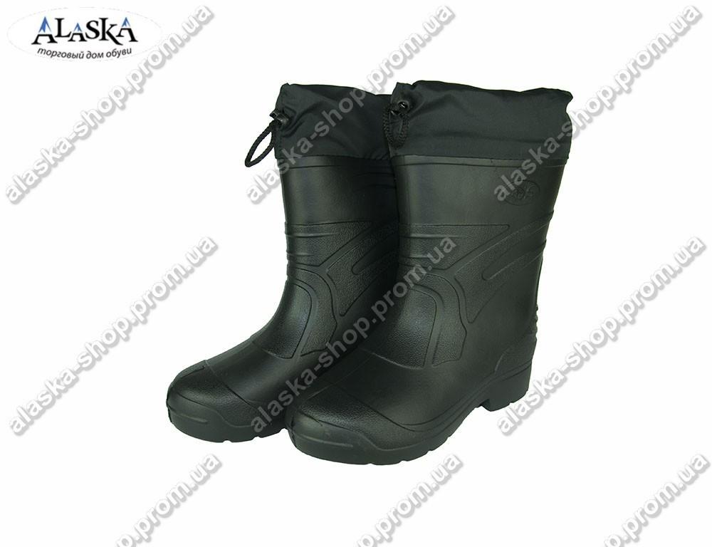 Сапоги мужские (Код: EVA-03 обшив черный)