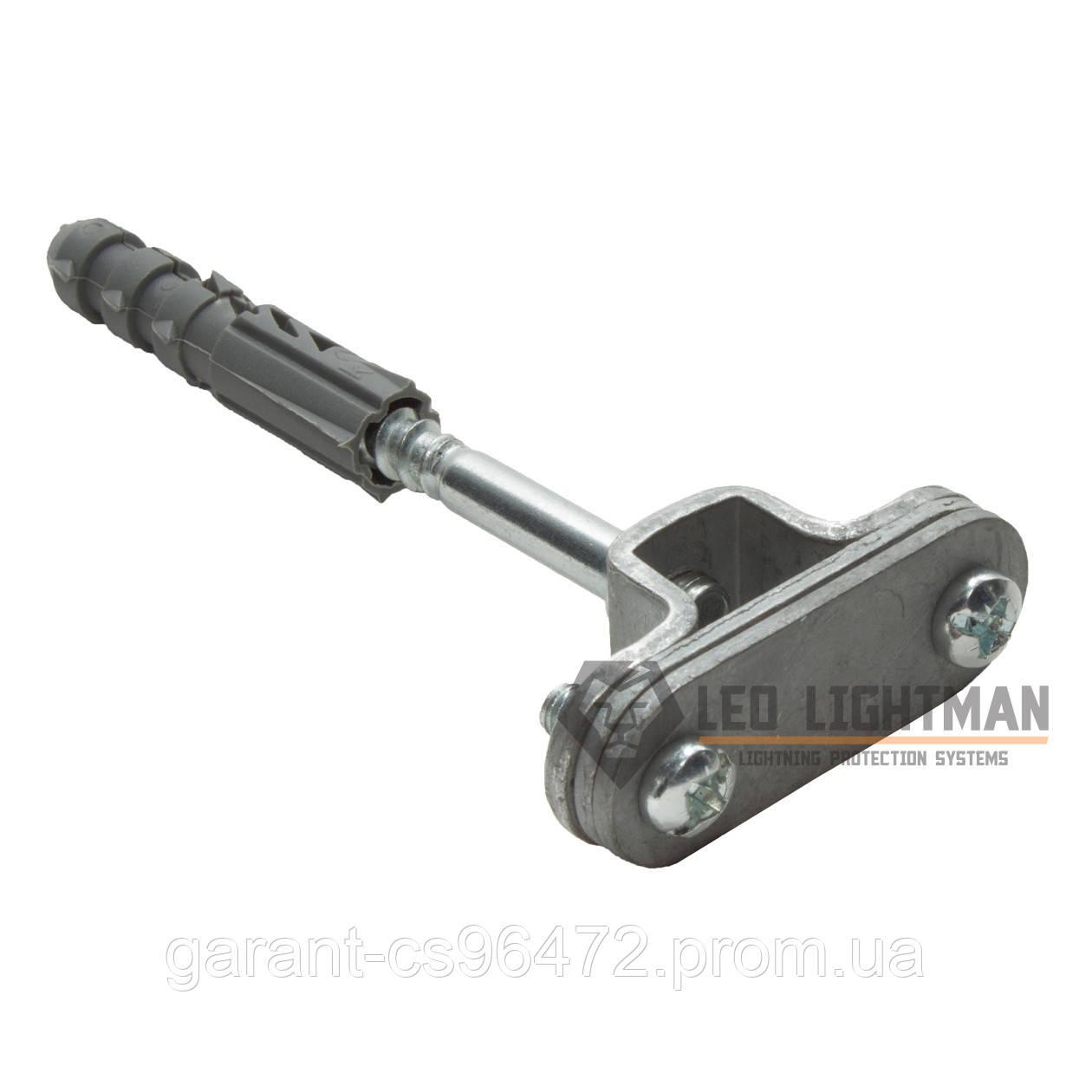 Держатель Fix для плоских проводников шириной до 30мм с дюбелем L160 St/tZn