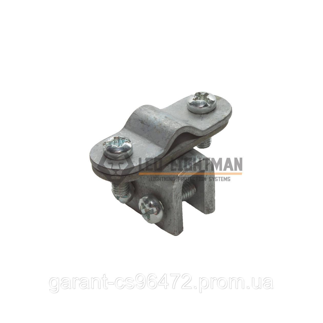 Держатель фальцевый для круглых проводников Ø8-10 мм St/tZn