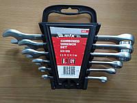 Набор ключей комбинированных, 6 - 17 мм, 6 шт., Matrix (154029)