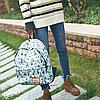 Модный рюкзак с рисунком Вигвамов, фото 3