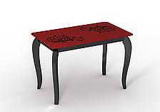Обеденный стол стеклянный Sentenzo Император Шик