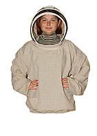 Куртка пчеловода Евро. Лён. Размер M / 48-50